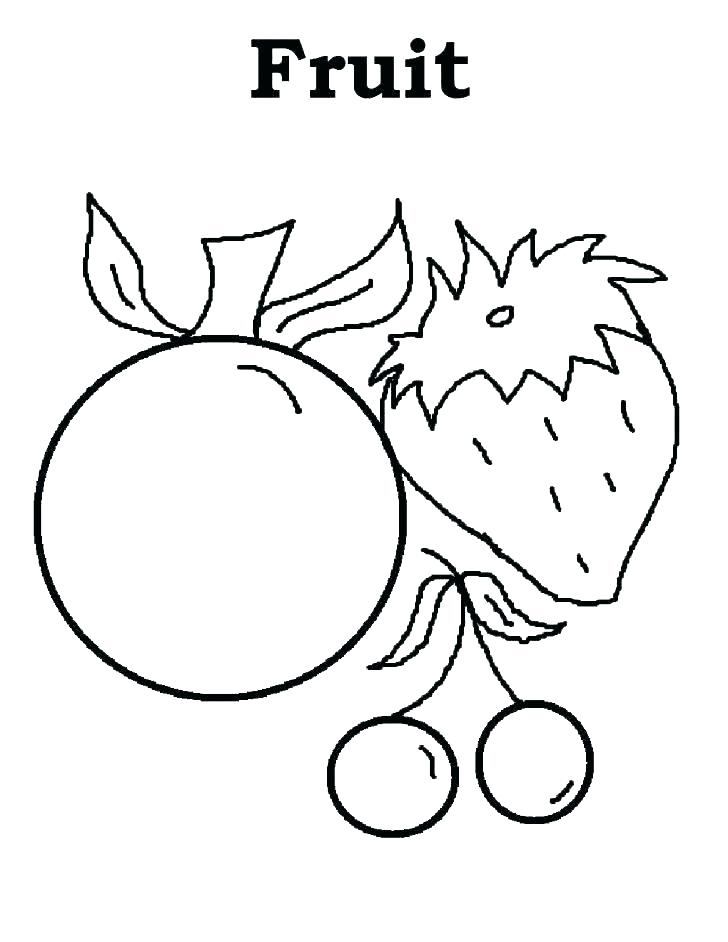 728x942 Coloring Pages Fruit Printable Fruit Coloring Pages Apple Fruit