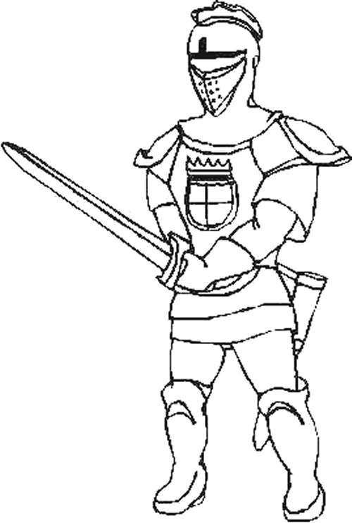 500x742 Kids N Coloring Pages Of Knights