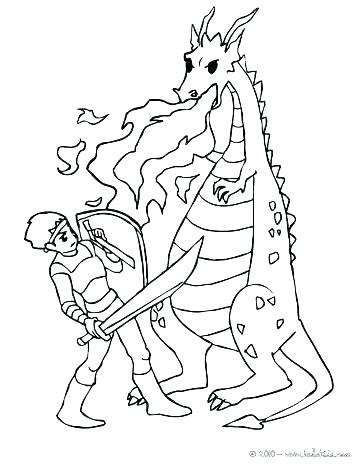 364x470 Knight Coloring Pages Knight Coloring Page Knight Coloring Page