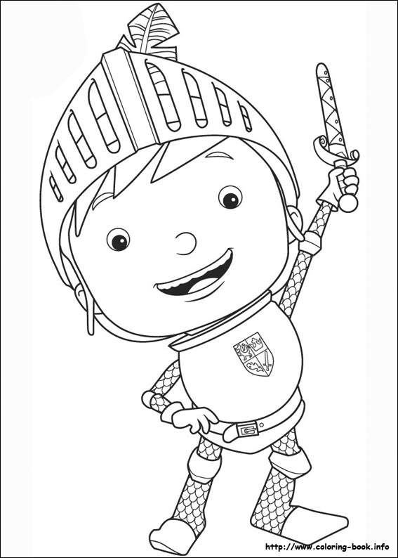 567x794 Knight Colouring Pictures Mike The Knight Coloring Pages