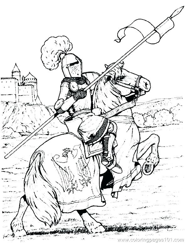 590x776 Coloring Pages Of Knights Coloring Pages Of Knights Knight