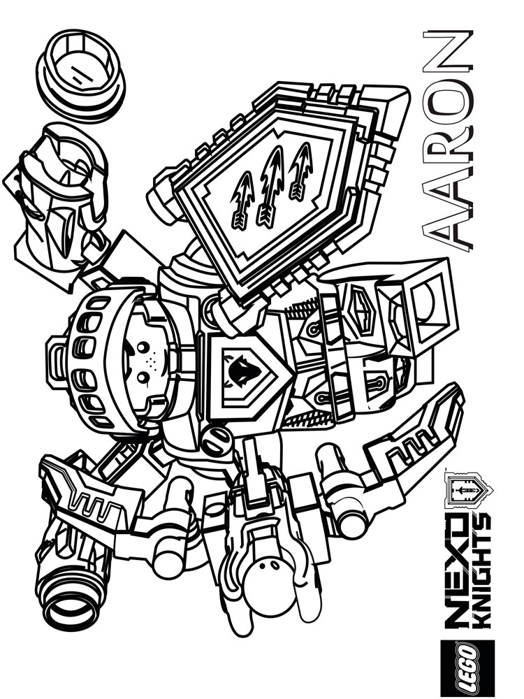 750x1000 Lego Nexo Knight Coloring Pages Free Printable Lego Nexo Knight