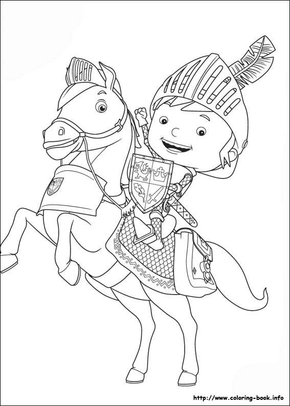567x794 Mike The Knight Coloring Pages On Coloring