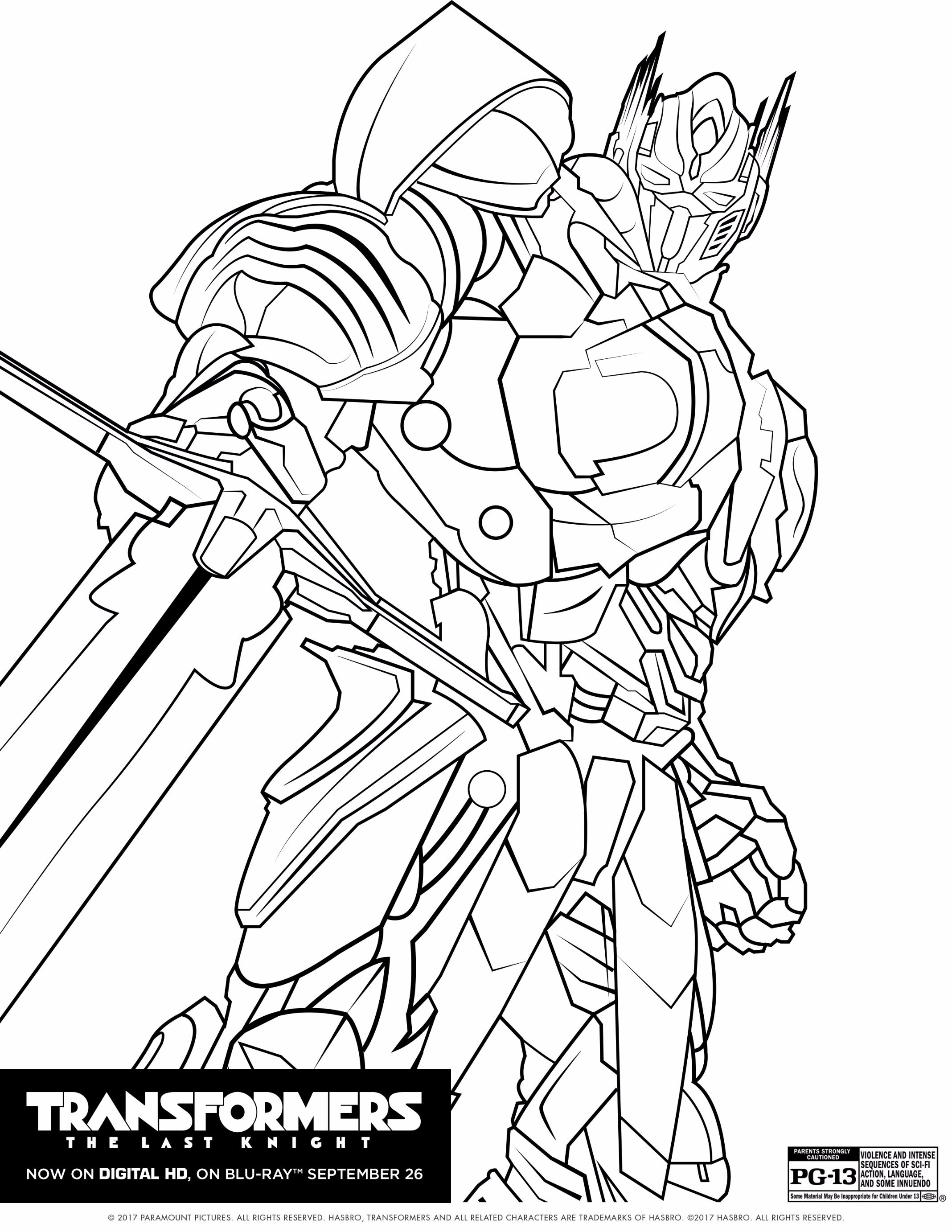 2136x2764 Inspiration Transformers The Last Knight Coloring Pages
