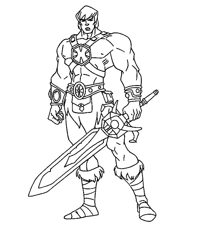 700x800 Knights Coloring Pages