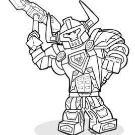 268x268 Lego Nexo Knights Coloring Pages Free Printable Lego Nexo Lego