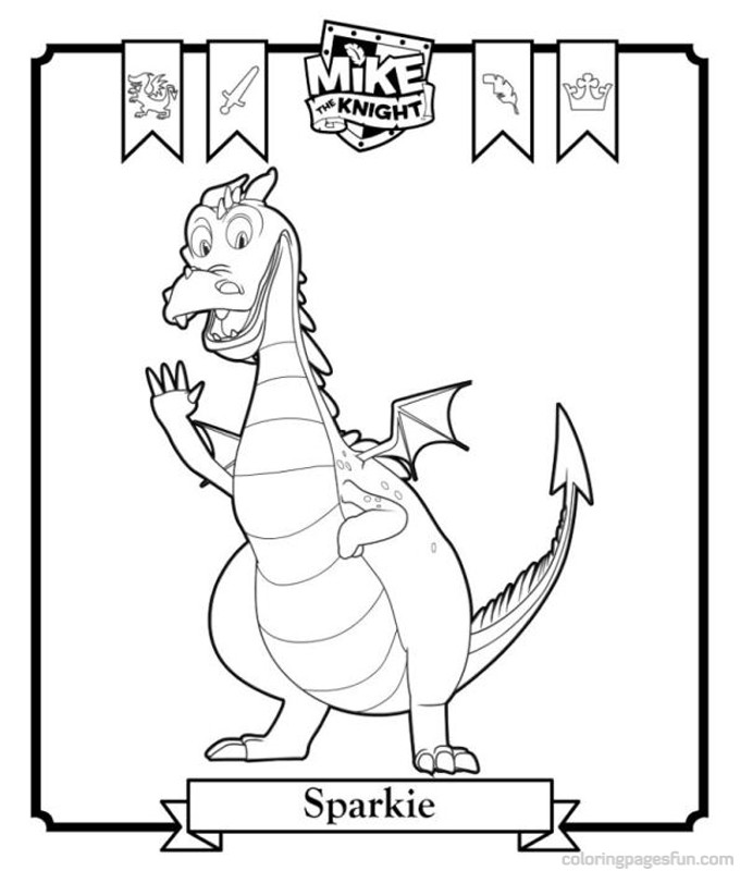 680x800 Mike The Knight Coloring Pages Coloring Pages