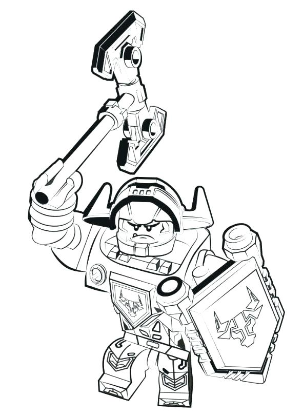 591x811 Nexo Knights Coloring Pages Printable Coloring Pages For Kids Nexo