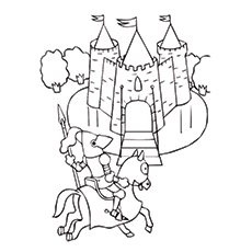 230x230 Top Knight Coloring Pages For Kids