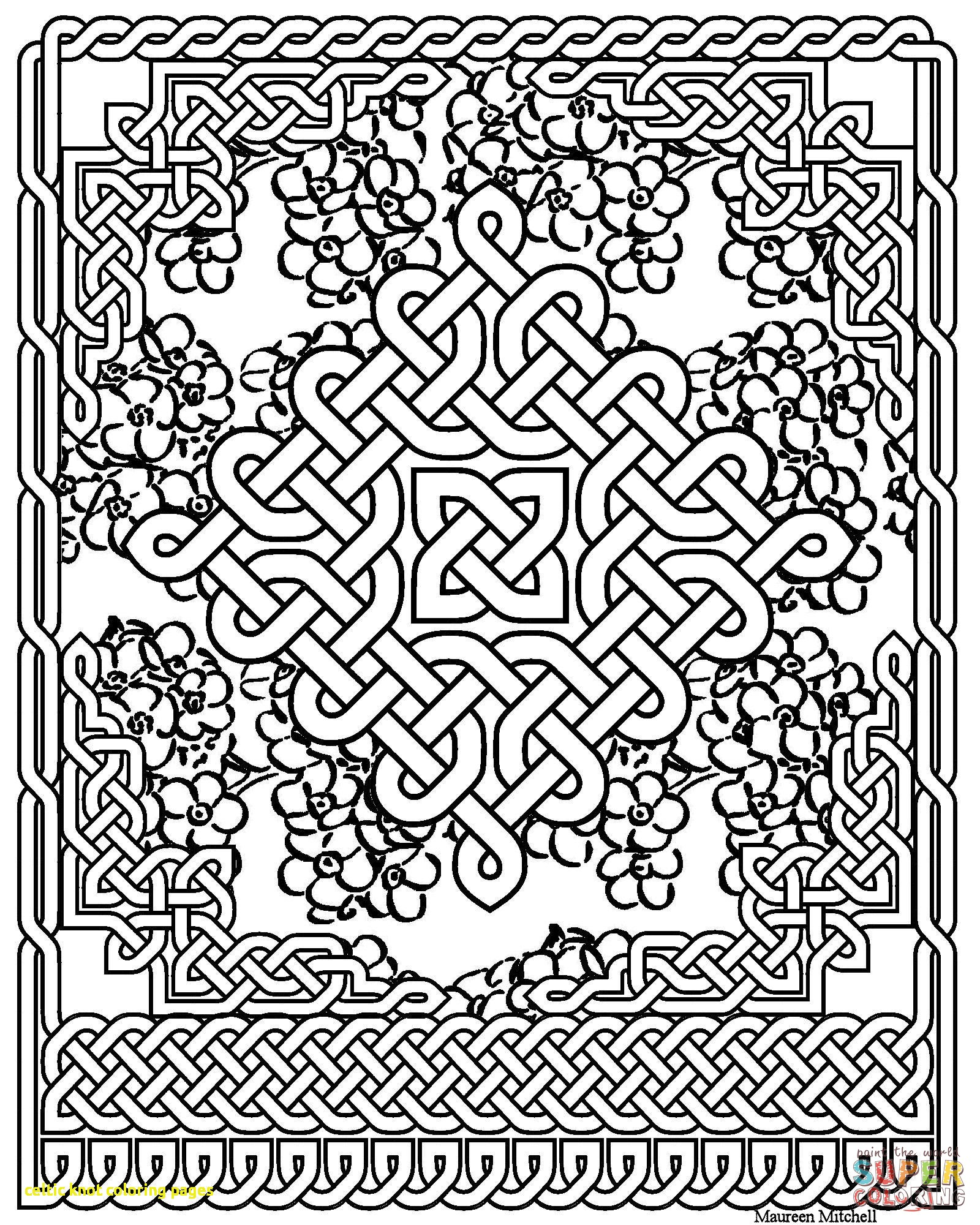 1600x2000 Celtic Knot Coloring Pages With Celtic Art Coloring Pages