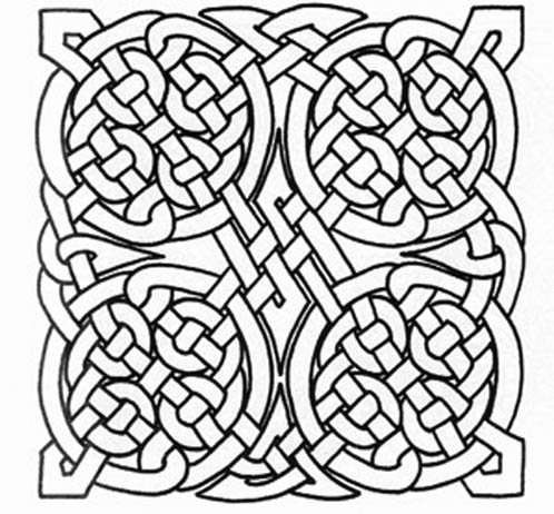 498x462 Printable Celtic Designs Free Printable Celtic Knot Patterns