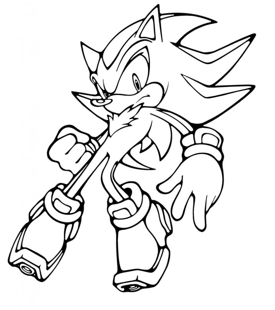 909x1024 Coloring Page Knuckles The Echidna Beauteous Pages