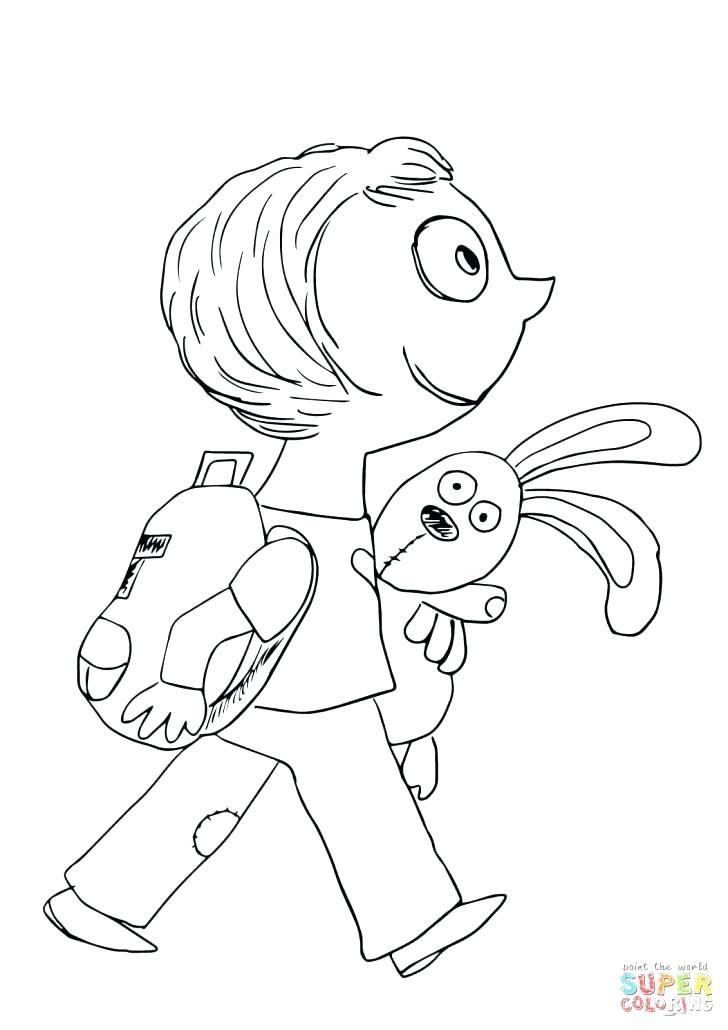 728x1030 Knuffle Bunny Coloring Pages Bunny Coloring Page Bunny Coloring