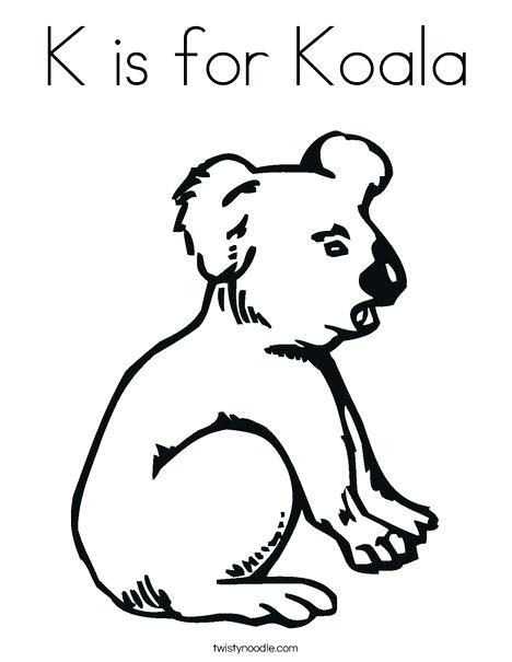 468x605 Koala Coloring Page Koala Bear Coloring Page Baby Koala Bear