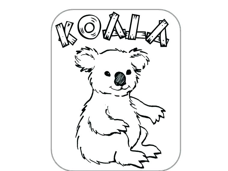759x569 Free Koala Bear Coloring Pages Printable Coloring Koala Coloring
