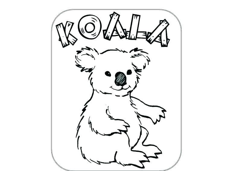 759x569 Koala Coloring Pages Coloring Pages Of Koalas Koala Coloring Page