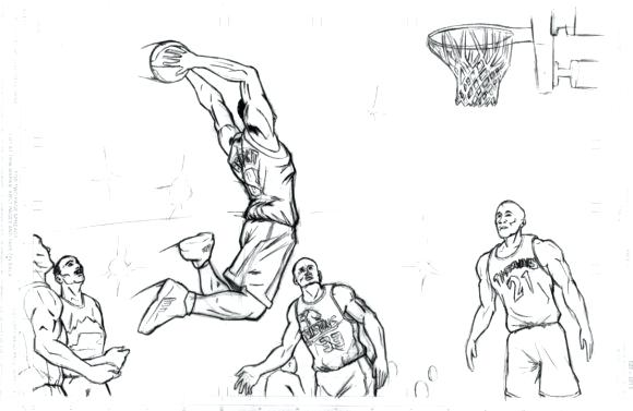 580x377 Kobe Bryant Coloring Pages Kobe Bryant Coloring Pages Coloring