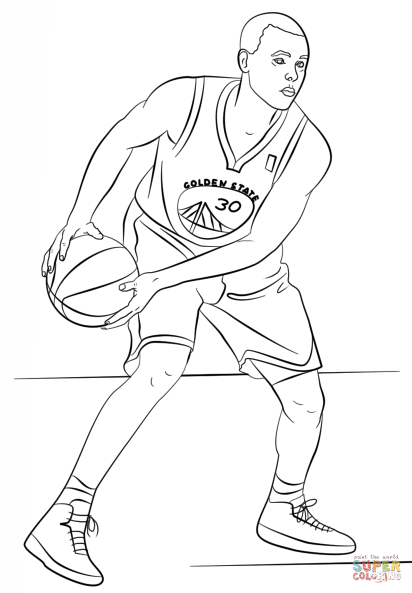 824x1186 Kobe Bryant Coloring Pages Stephen Curry Coloring Page
