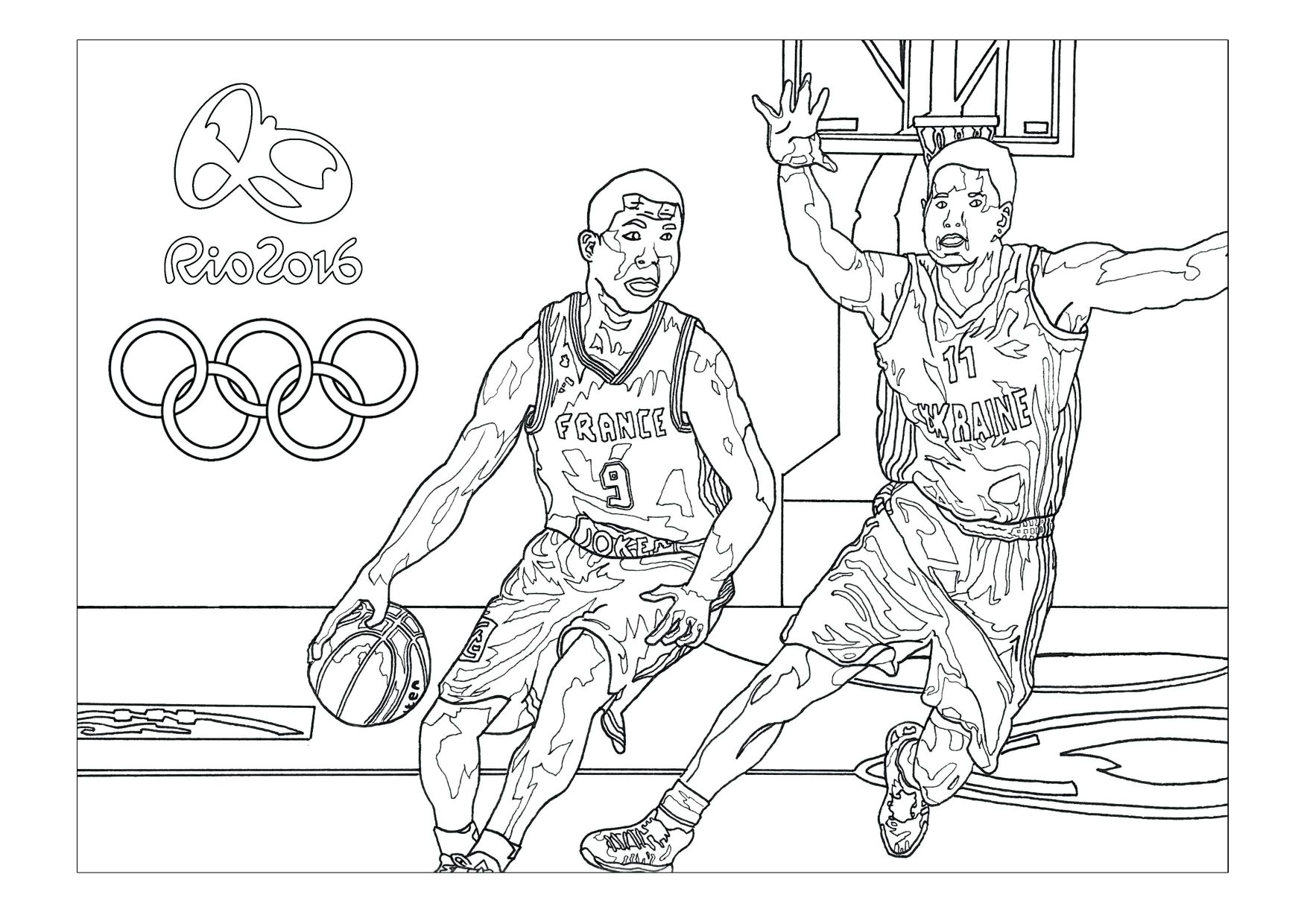 1754x1240 Kobe Bryant Coloring Pages