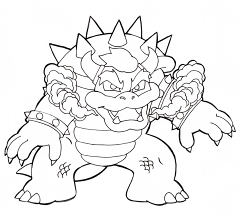 Koopalings Coloring Pages