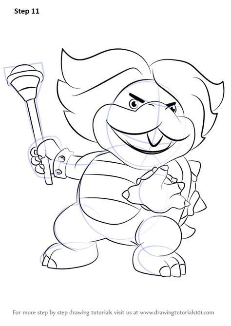 koopalings coloring pages at getdrawings | free download