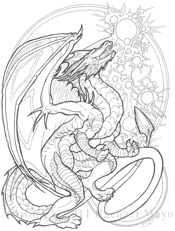 Kraken Coloring Pages