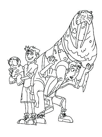 359x480 Wild Kratts Coloring Pages Wild Coloring Pages Wild Kratts