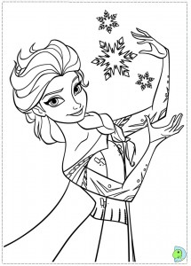 215x300 Disney Frozen Coloring Sheets Elsa, Anna And Kristoff Sisters