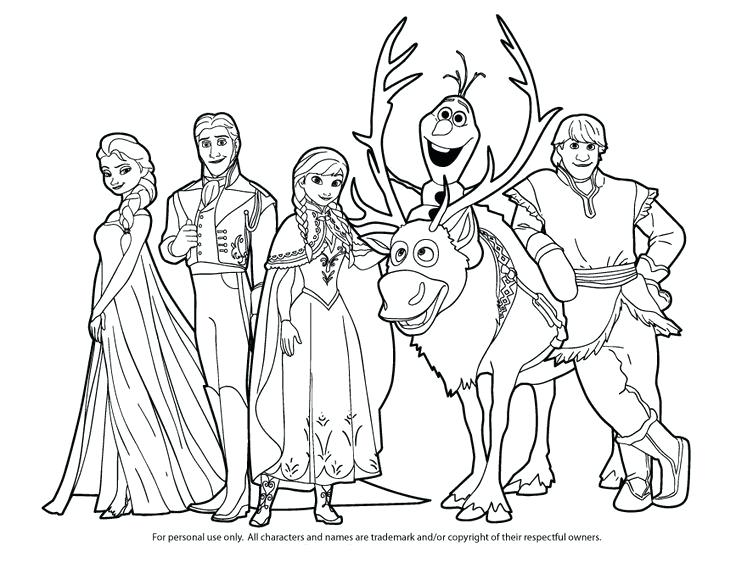 736x568 Kristoff Frozen Coloring Pages Images Of Printable