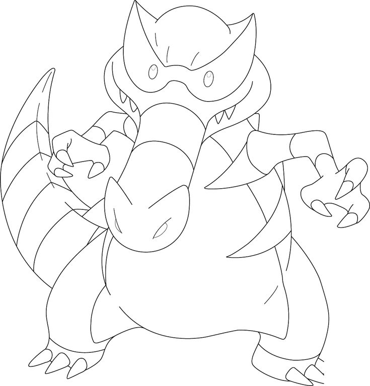 Krookodile Coloring Pages