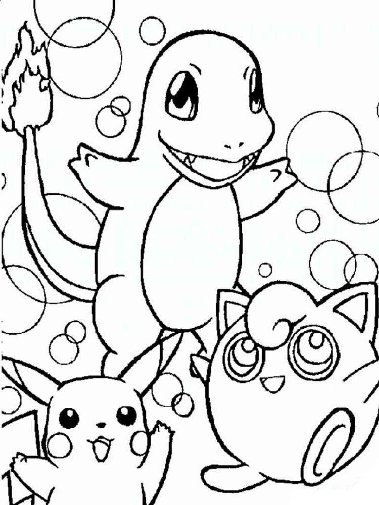 750x1000 Free Printable Pokemon Coloring Pages