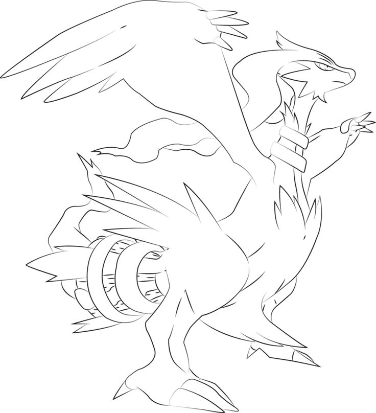 Pokemon Kleurplaten Riolu.The Best Free Zoroark Coloring Page Images Download From 5