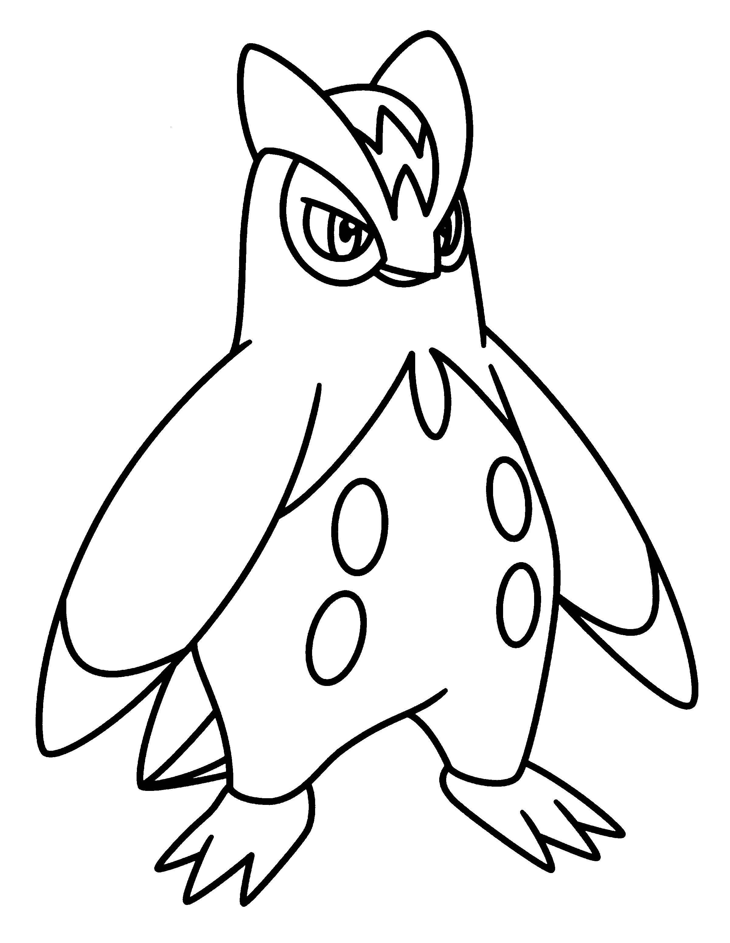 2400x3100 Pokemon Coloring Pages Krookodile