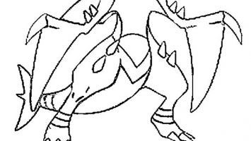 Kleurplaten Pokemon Tepig.Krookodile Coloring Pages At Getdrawings Com Free For