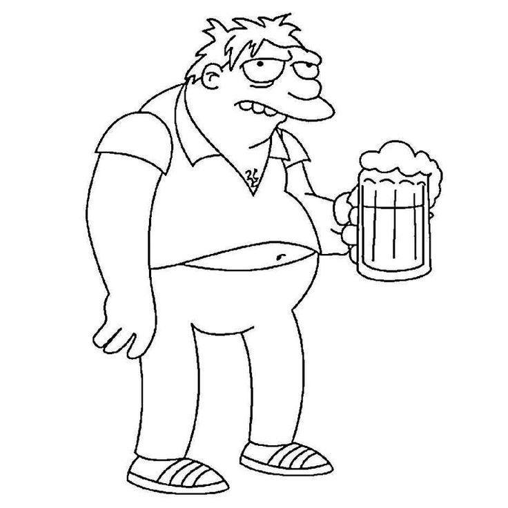 736x736 Best Coloring Pages Simpsons Images