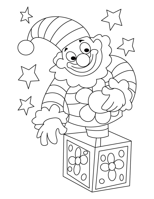 612x792 Clown Coloring Pages For Preschoolers Circus Clown Coloring Page