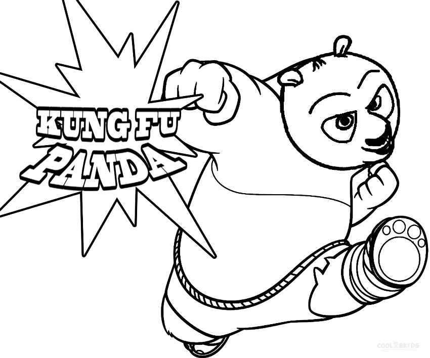 850x708 Printable Kung Fu Panda Coloring Pages For Kids