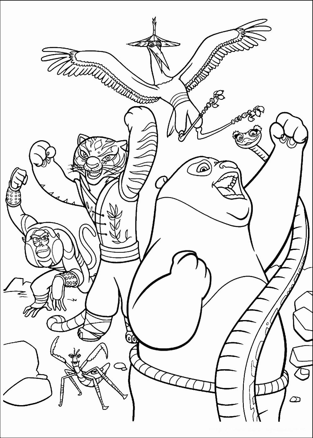 1000x1400 Fu Panda Coloring Pages New Coloring Sheets