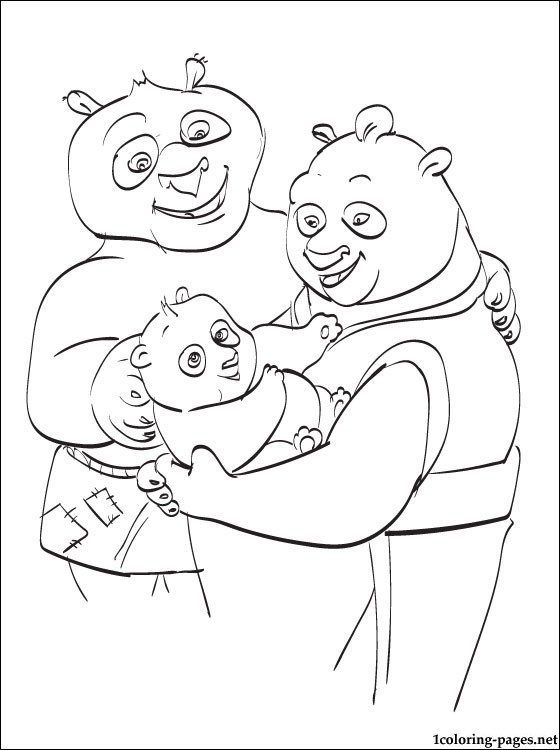560x750 Kung Fu Panda Coloring Book Coloring Pages