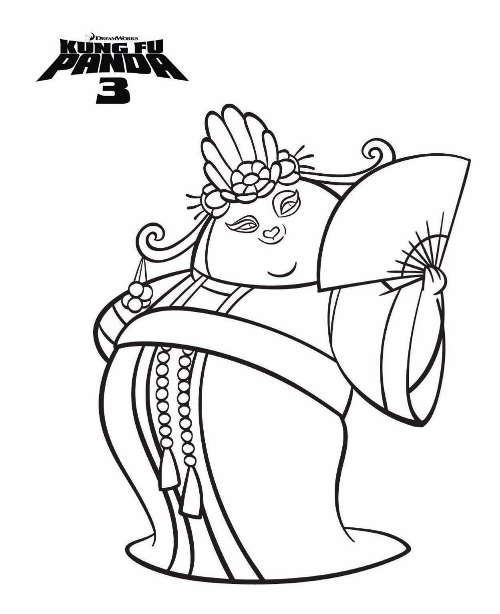 999x1226 Kids N Coloring Pages Of Kung Fu Panda