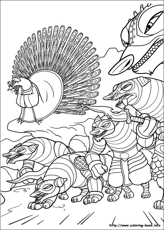 567x794 Kung Fu Panda Coloring Pages On Coloring
