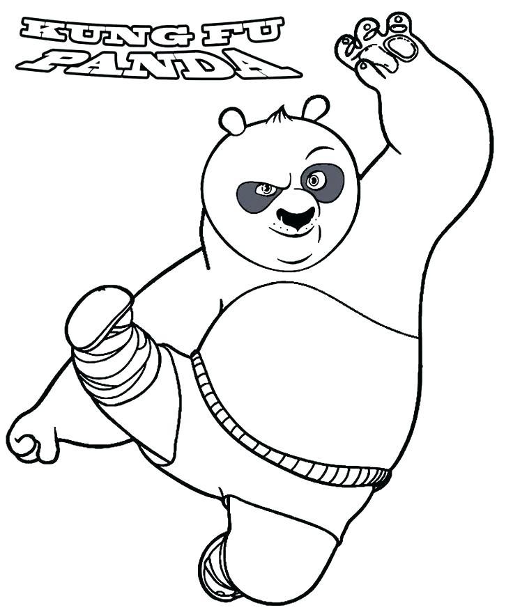 736x876 Kung Fu Panda Colouring Pages Panda Coloring Page Kung Fu Panda