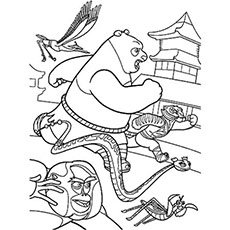 230x230 Top Free Printable Kung Fu Panda Coloring Pages Online