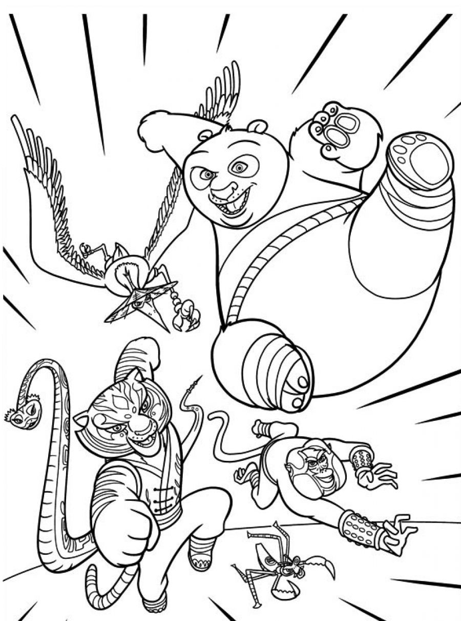 900x1210 New Coloring Pages Lovely Kung Fu Panda Coloring Pages Kung