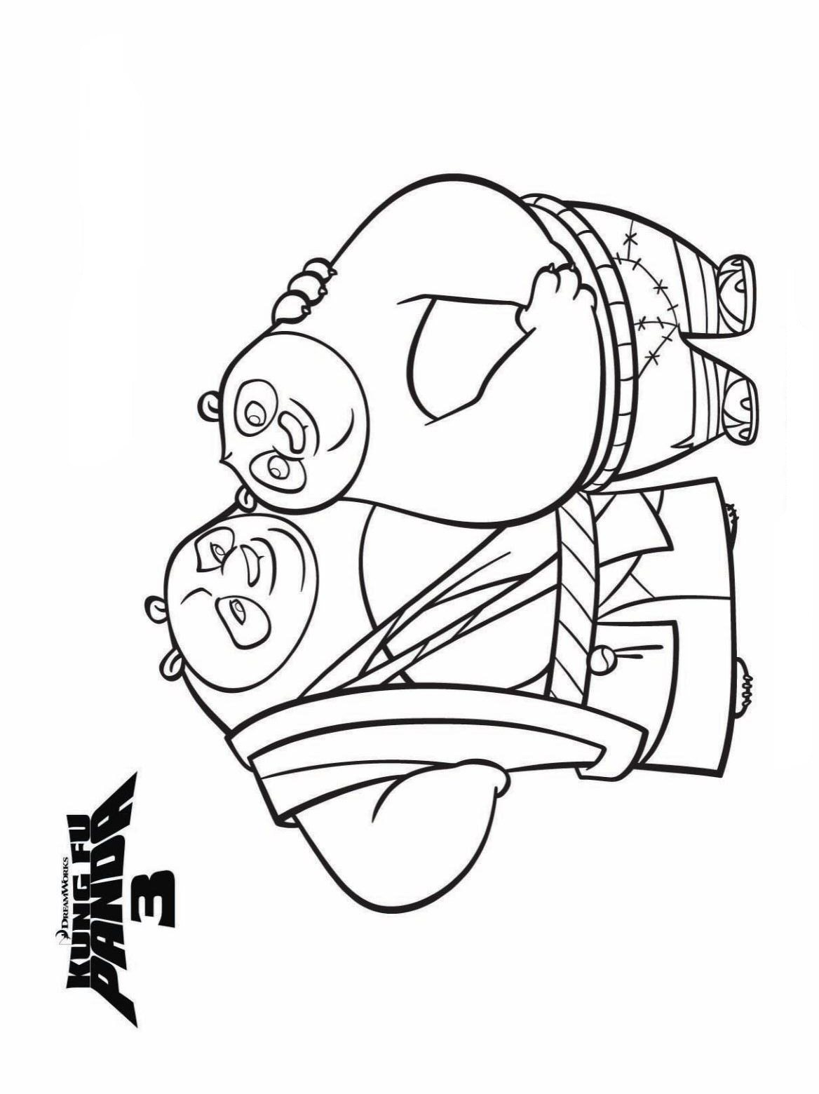 1168x1560 Kids N Coloring Pages Of Kung Fu Panda