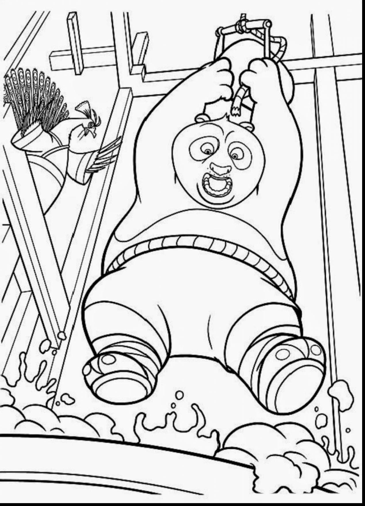 1269x1760 Kung Fu Panda Coloring Pages For Kids Best Terrific Kung Fu Free