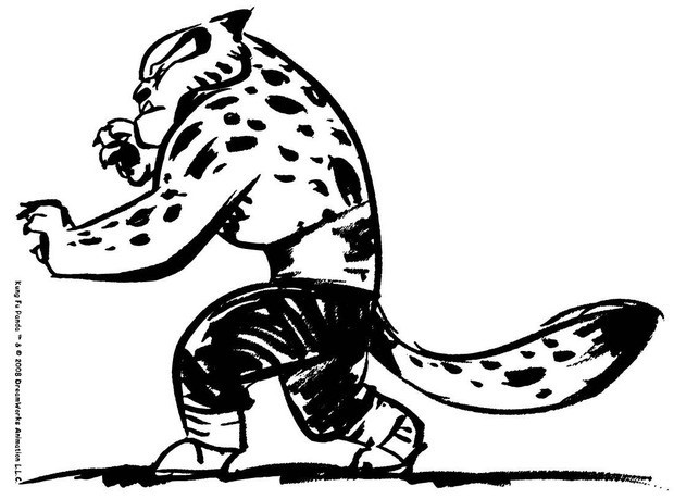 620x459 Tigress Go To Fight Coloring Pages