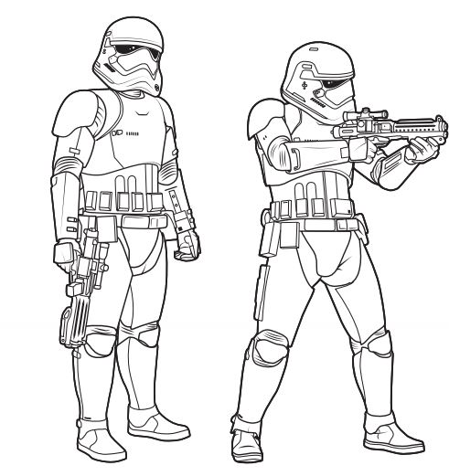 Kylo Ren Coloring Page