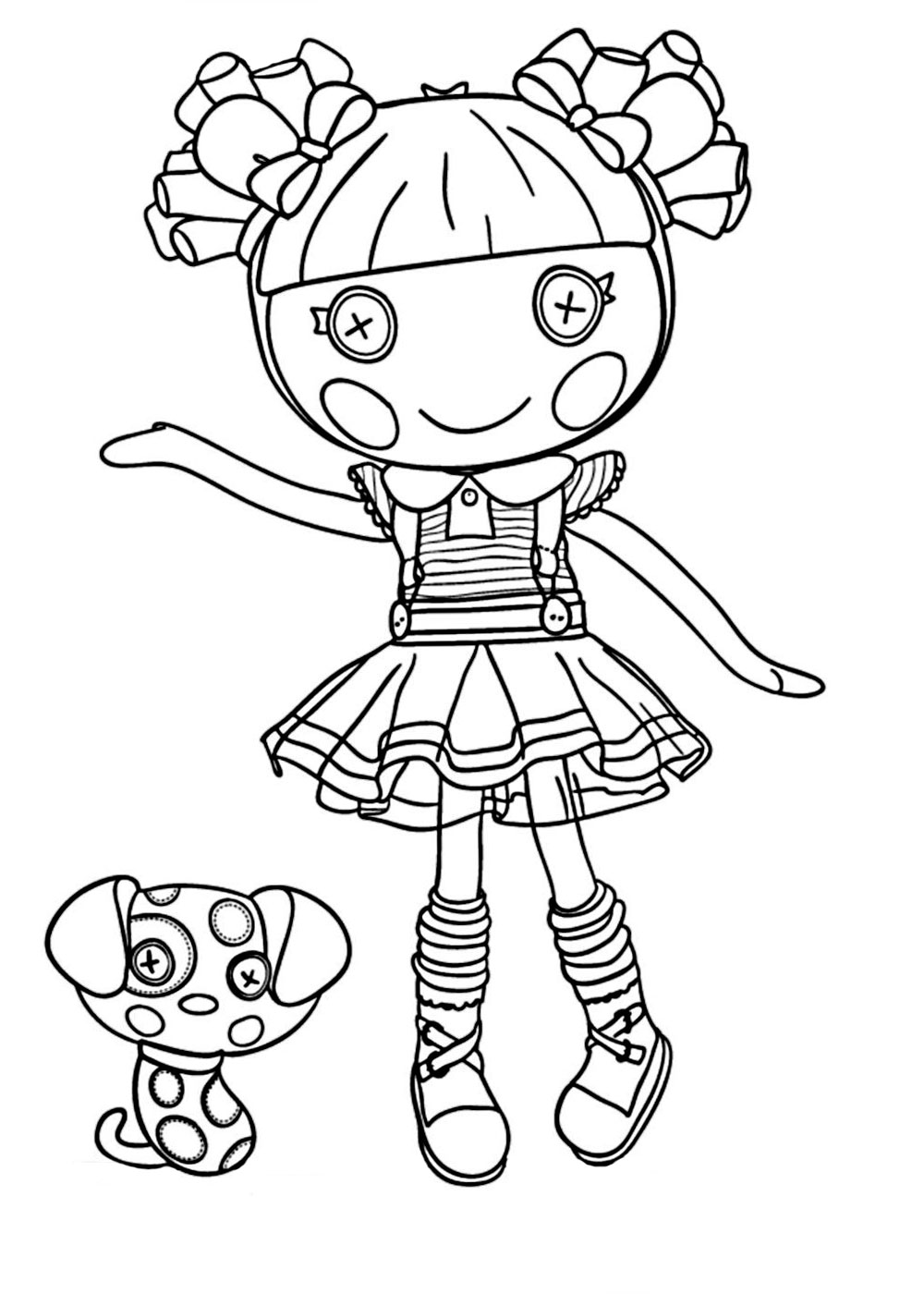 La Coloring Pages