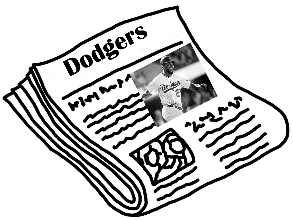 La Dodgers Coloring Pages